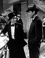 The Maltese Falcon (1941)<br /> Humphrey Bogart &amp; Peter Lorre<br /> *Filmstill - Editorial Use Only*<br /> CAP/KFS<br /> Image supplied by Capital Pictures