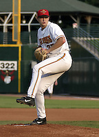 September 5, 2004:  Pitcher Scott Baker of the Rochester Red Wings, Triple-A International League affiliate of the Minnesota Twins, during a game at Frontier Field in Rochester, NY.  Photo by:  Mike Janes/Four Seam Images