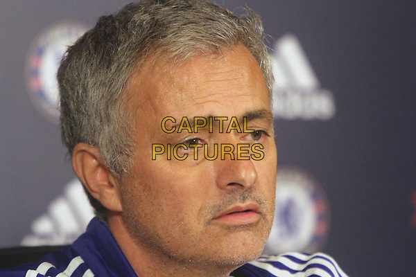 Jose Mourinho attends Chelsea's press conference at their Cobham Training Ground on November 6th, 2015<br /> CAP/DS<br /> &copy;DS/Capital Pictures