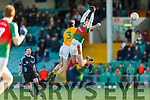 20-1-19 AIB GAA Football All-Ireland Intermediate Club Championship, Semi Final between Kilcummin, and Two Mile House in the Gaelic Grounds, Limerick.<br /> Kieran Murphy, Kilcummin defending against Mark Sherry, Two Mile House.<br /> Picture: Keith Wiseman