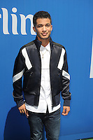 FLUSHING NY- AUGUST 27: Jordan Fisher attends Arthur Ashe kids day at the USTA Billie Jean King National Tennis Center on August 27, 2016 in Flushing Queens. Photo byMPI04 / MediaPunch