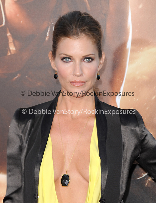Tricia Helfer <br />  at The Universal Pictures' World Premiere of Riddick held at The Westwood Village in Westwood, California on August 28,2013                                                                   Copyright 2013 Hollywood Press Agency