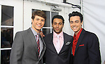 """One Life To Live's Andrew Trischitta """"Jack Manning"""" with  Corbin Bleu - Robert Gorrie on Red Carpet at New York Premiere Event for beloved series """"One Life To Live"""" on April 23, 2013 at NYU Skirball, New York City, New York - as The Online Network (TOLN) - OLTL - AMC begin airing on April 29, 2013 on Hulu and Hulu Plus.  (Photo by Sue Coflin/Max Photos)"""