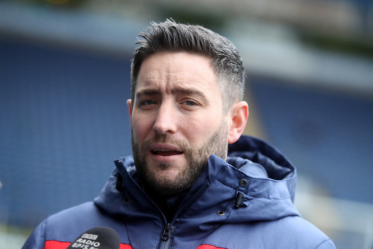 Bristol City's Manager Lee Johnson  <br /> <br /> Photographer Mick Walker/CameraSport<br /> <br /> The EFL Sky Bet Championship - Blackburn Rovers v Bristol City - Saturday 9th February 2019 - Ewood Park - Blackburn<br /> <br /> World Copyright &copy; 2019 CameraSport. All rights reserved. 43 Linden Ave. Countesthorpe. Leicester. England. LE8 5PG - Tel: +44 (0) 116 277 4147 - admin@camerasport.com - www.camerasport.com
