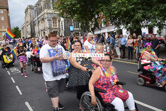 Norwich Pride 30 July 2016 UK