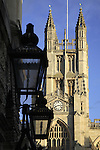 Abbey; Bath; England; UK