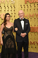LOS ANGELES - SEP 22:  Rebecca Banks, Jonathan Banks at the Primetime Emmy Awards - Arrivals at the Microsoft Theater on September 22, 2019 in Los Angeles, CA