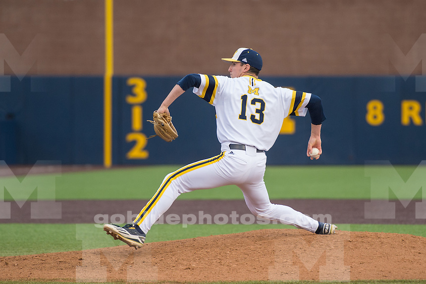 The University of Michigan baseball team defeats Eastern Michigan, 12 - 4, at Fisher Stadium in Ann Arbor on May 3, 2016.