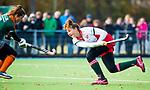 TILBURG  - hockey- Lotte van Dongen (MOP) scoort 1-1  tijdens de wedstrijd Were Di-MOP (1-1) in de promotieklasse hockey dames. COPYRIGHT KOEN SUYK