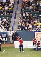 Chivas USA head coach Preki during a MLS match. The LA Galaxy defeated Chivas USA 5-2 during the SuperClasico at the Home Depot Center Stadium, in Carson, California, Saturday, April 26, 2008.