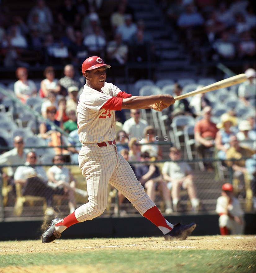 Cincinnati Reds Tony Perez (24) during a game from his 1968 season with the  Cincinnati Reds. Tony Perez played for 23 years with 4 different teams, was a 7-time All-Star and was inducted to the Baseball Hall of Fame in 2000.