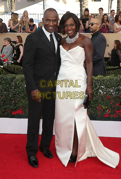 29 January 2017 - Los Angeles, California - Viola Davis, Julius Tennon. 23rd Annual Screen Actors Guild Awards held at The Shrine Expo Hall. <br /> CAP/ADM/FS<br /> &copy;FS/ADM/Capital Pictures