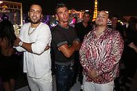 LAS VEGAS, NEVADA - JULY 24, 2016 French Montana, Christiano Ronaldo & Fat Joe attend JLO's private birthday celebration at The Nobu Villa Suite at Caesars Palace, July 24, 2016 in Las Vegas Nevada. Photo Credit: Walik Goshorn / Mediapunch
