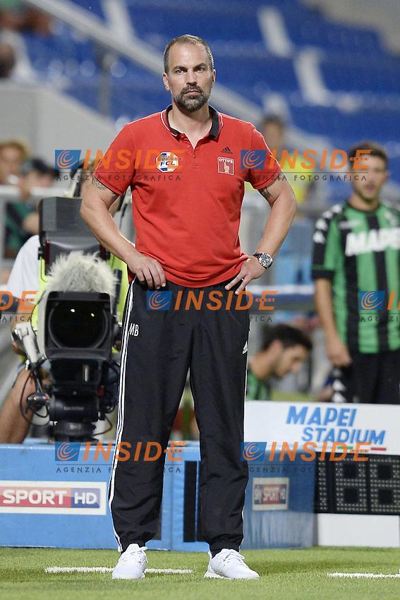 Markus Babbel<br /> Reggio Emilia 04-08-2016 Stadio Mapei Football Calcio Europa League 2016/2017 Sassuolo - Lucerna. Foto Daniele Buffa / Image Sport / Insidefoto