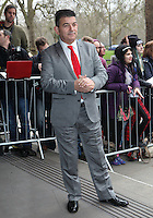 John Altman arriving for the TRIC Awards 2014, at Grosvenor House Hotel, London. 11/03/2014 Picture by: Alexandra Glen / Featureflash
