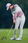 Hyo Joo Kim of Korea in action during the Hyundai China Ladies Open 2014 Pro-am on December 10 2014, in Shenzhen, China. Photo by Li Man Yuen / Power Sport Images