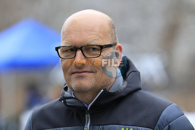 Bjarne Riis Team Veloconcept Ladies before the start of the Ladies 2017 Strade Bianche running 127km from Siena to Siena, Tuscany, Italy 4th March 2017.<br /> Picture: Eoin Clarke | Newsfile<br /> <br /> <br /> All photos usage must carry mandatory copyright credit (&copy; Newsfile | Eoin Clarke)