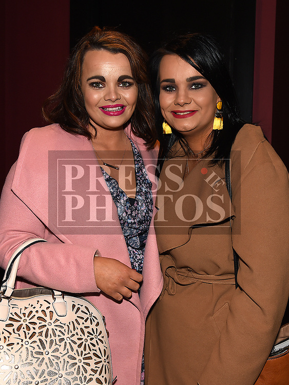 Siobhan and Olivia McKevitt at The Prodigy Sons fundraiser for Ella hewitt in The Crescent Concert Hall. Photo:Colin Bell/pressphotos.ie
