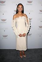 23 February 2017 - West Hollywood, California - Zoe Saldana. Cadillac Celebrates the 89th Annual Academy Awards at Chateau Marmont. Photo Credit: AdMedia