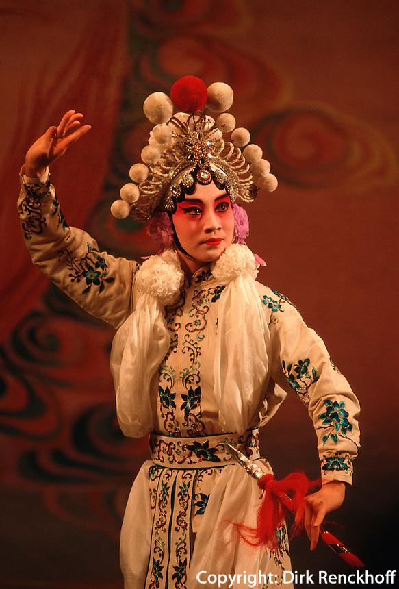 Pekingoper, weibliche Hauptrolle (Dan), Peking (Beijing), China