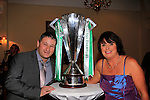Rosie and Micky Dowd at the Celtic night in the Boyne Valley Hotel.<br /> Picture Fran Caffrey www.golffile.ie