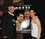 "Actors William DeMeo & Al Burgo - Brooklyn, New York celebratges Actor William DeMeo's upcoming role in Gotti film in which he plays Sammy ""The Bull"" Gravano in a block party on May 23, 2018 along with cast.  (Photo by Sue Coflin/Max Photos)"