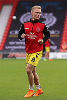 Fleetwood Town's Kyle Dempsey during the pre-match warm-up <br /> <br /> Photographer David Shipman/CameraSport<br /> <br /> The EFL Sky Bet League One - Doncaster Rovers v Fleetwood Town - Saturday 6th October 2018 - Keepmoat Stadium - Doncaster<br /> <br /> World Copyright &copy; 2018 CameraSport. All rights reserved. 43 Linden Ave. Countesthorpe. Leicester. England. LE8 5PG - Tel: +44 (0) 116 277 4147 - admin@camerasport.com - www.camerasport.com