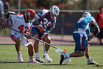 Philadelphia Barrage vs Los Angeles Riptide.Home Depot Center, Carson California.Jesse Hubbard (#35) Brian Kuczma (# 43).506P8531.JPG.CREDIT: Dirk Dewachter