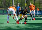 BLOEMENDAAL - Nicolas Della Torre (Den Bosch)    tijdens de hoofdklasse competitiewedstrijd hockey heren,  Bloemendaal-Den Bosch (2-1) COPYRIGHT KOEN SUYK