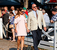 Scenes from around Saratoga Race Course on Hopeful day, the last day of the meet.   (Bruce Dudek/Eclipse Sportswire)