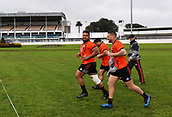 14th September 2017, Alexandra Park, Auckland, New Zealand; New Zealand Rugby Training Session;  Nepo Laulala and Tawera Kerr-Barlow