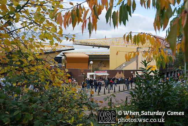 Wolverhampton Wanderers 2 Coventry City 1, 18/10/2008. Molineux Stadium, Wolverhampton. Championship. Photo by Paul Thompson.