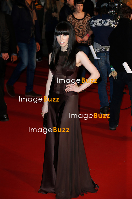 CARLY RAE JEPSEN/ January 26,, 2013- Carly Rae Jepsen attends the NRJ Music Awards at Palais des Festivals in Cannes, France. .