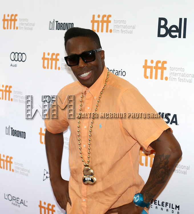 "Kardinal Offishall attending the 2013 Tiff Film Festival Red Carpet Gala for ""Don Jon""  at the Princess of Wales Theatre on September 10, 2013 in Toronto, Canada."