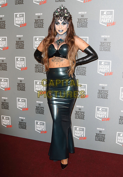 Olivia Buckland at the KISS House Party at SSE Arena Wembley, London on Thursday 26 October 2017<br /> CAP/ROS<br /> &copy;ROS/Capital Pictures