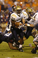 29 September 2007:  Pitt RB LeSean Shady McCoy (25).  The Virginia Cavaliers defeated the Pittsburgh Panthers 44-14 September 29, 2007 at Scott Stadium in Charlottesville, VA..