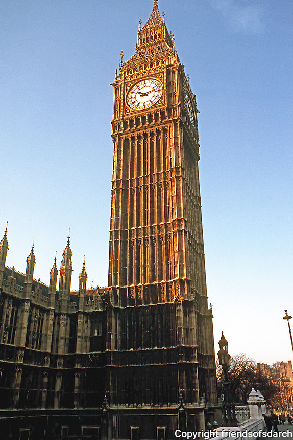 London: Big Ben.  Photo '79.