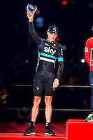 Christopher Froome, second position of La Vuelta a España 2016 in Madrid. September 11, Spain. 2016. (ALTERPHOTOS/BorjaB.Hojas) NORTEPHOTO.COM