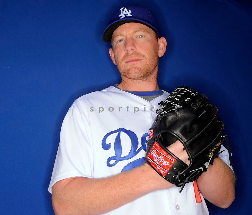 RANDY WOLF, of the Los Angeles Dodgers, during photo day of spring training and the Dodger's training camp in Glendale, Arizona on February 21, 2009.