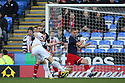 Simon Church of Reading shoots at goal.Reading v Stevenage - FA Cup 3rd Round - Madejski Stadium,.Reading - 7th January, 2012.© Kevin Coleman 2012