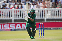 Imam-ul-Haq (Pakistan) pushes a single to register his century during Pakistan vs Bangladesh, ICC World Cup Cricket at Lord's Cricket Ground on 5th July 2019