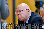 John Brassil TD at the Joint Policing Committee meeting at County Buildings, Tralee on Friday.