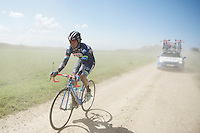 Jerome Baugnies (BEL/Wanty-Groupe Gobert) caught in the dust<br /> <br /> 33th Tro Bro L&eacute;on 2016