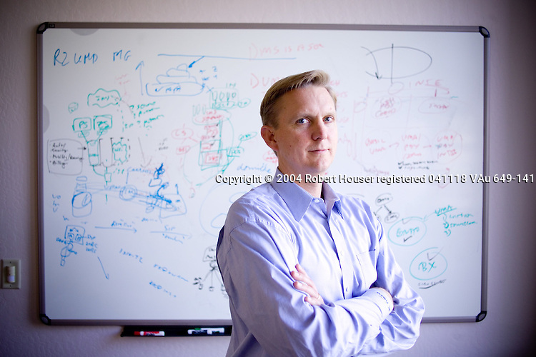 Ken Kolderup - VP Marketing - Kineto Wireless: Executive portrait photographs by San Francisco - corporate and annual report - photographer Robert Houser.