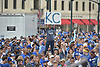 Nov 3, 2015; Kansas City, MO, USA; A Kansas City Royals fans shows support while waiting on players to arrive at Union Station. Mandatory Credit: Denny Medley-USA TODAY Sports