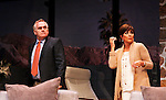 """As The World Turns' Colleen Zenk stars along with the cast - Malachy Cleary,  in """"Other Desert Cities"""" at the tech rehearsal (in costume) on October 14, 2015 at Whippoorwill Halll Theatre, North Castle Library, Kent Place, Armonk, New York.  (Photo by Sue Coflin/Max Photos)"""
