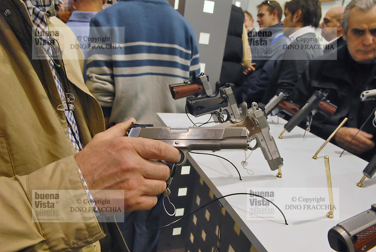 - EXA (Expo Armi), small arms and light weapons exhibition at Brescia fair ....- EXA (Expo Armi), salone delle armi leggere alla fiera di Brescia