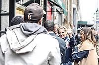 NEW YORK, NY, 04.04.2017 -SARAH-GELLAR - A atriz norte-americana Sarah Michelle Gellar é vista chegando a uma livraria na Ilha de Manhattan na cidade de New York nesta terça-feira, 04. (Foto: William Volcov/Brazil Photo Press)