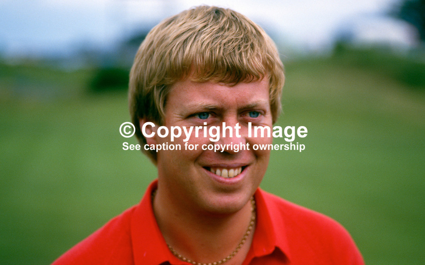 Howard Clark, professional golfer, England, Irish Open, Druids Glen, Co Wicklow, Ireland, 19870704HC1..Copyright Image from Victor Patterson, 54 Dorchester Park, Belfast, UK, BT9 6RJ..Tel: +44 28 9066 1296.Mob: +44 7802 353836.Voicemail +44 20 8816 7153.Skype: victorpattersonbelfast.Email: victorpatterson@me.com.Email: victorpatterson@ireland.com (back-up)..IMPORTANT: If you wish to use this image or any other of my images please go to www.victorpatterson.com and click on the Terms & Conditions. Then contact me by email or phone with the reference number(s) of the image(s) concerned.