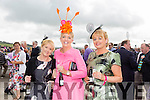 Enjoying Ladies Day at the Listowel Races on Friday were: Nora Mannix, Nora Nolan, Donna Daley from Firies, Newcastle west and Tralee